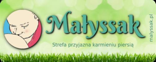 Logo Strefy przyjaznej karmieniu piersią Małyssak