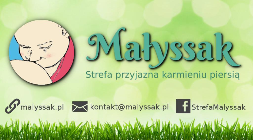 Logotyp Strefy przyjaznej karmieniu piersią Małyssak