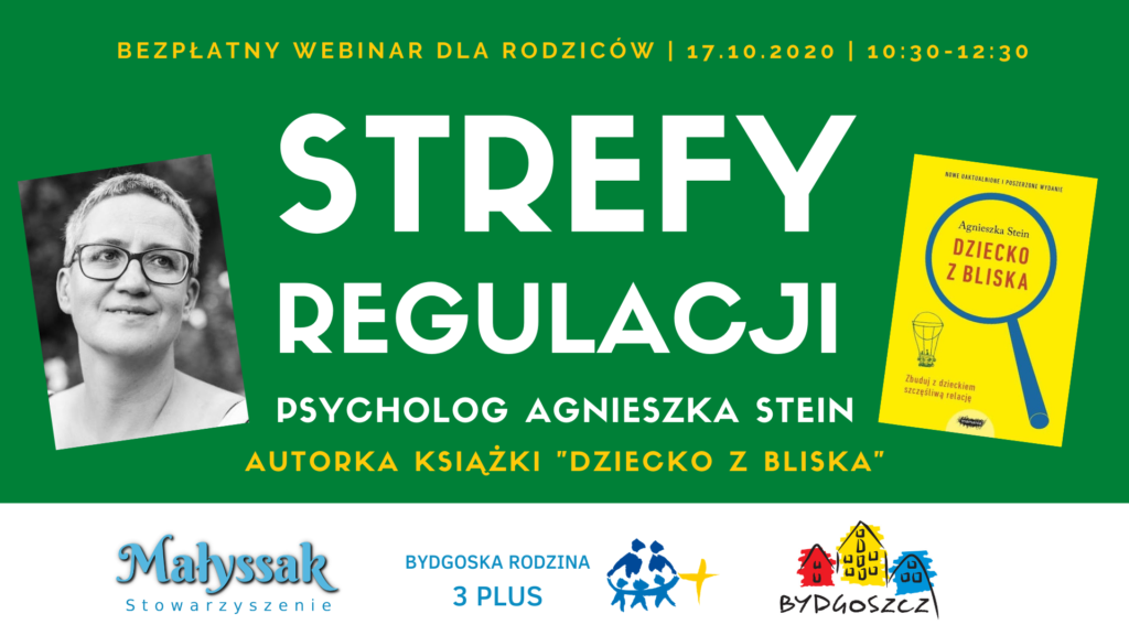 Baner webinaru Strefy regulacji z Agnieszką Stein