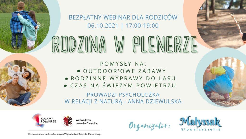 Baner webinaru Rodzija w plenerze